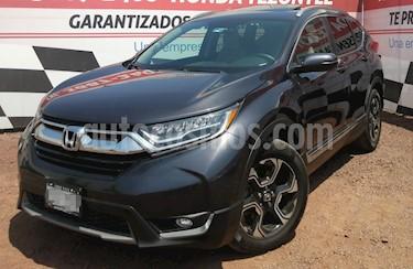 Honda CR-V Touring usado (2017) color Gris precio $390,000