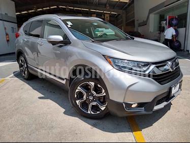 Honda CR-V Touring usado (2018) color Plata precio $410,000