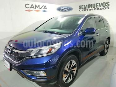 Honda CR-V EXL NAVI 4WD usado (2015) color Azul precio $289,900