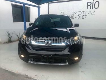 Honda CR-V Turbo Plus usado (2018) color Negro precio $409,000