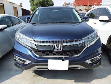 Honda CR-V EXL Navi usado (2015) color Azul precio $265,000