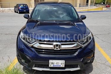 Honda CR-V Turbo Plus usado (2017) color Azul precio $349,000