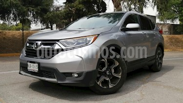 Honda CR-V 5P TURBO PLUS 1.5T CVT PIEL RA-18 usado (2019) color Plata precio $470,000