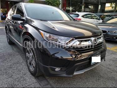 Honda CR-V 5P TURBO PLUS 1.5T CVT PIEL RA-18 usado (2018) color Negro precio $429,000