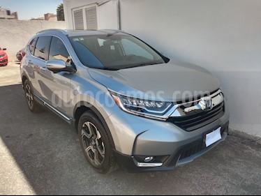 Honda CR-V Touring usado (2019) color Plata Diamante precio $460,000