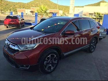 Honda CR-V Touring usado (2017) color Naranja precio $375,000