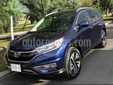 Honda CR-V EXL NAVI 4WD usado (2016) color Azul precio $299,000