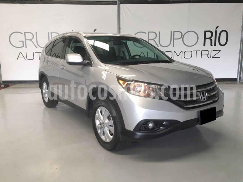 Honda CR-V EXL NAVI 4WD usado (2014) color Plata precio $239,000