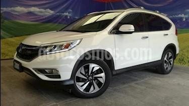 Honda CR-V 5P EXL CVT A/AC. AUT. QC PIEL DVD GPS RA-18 usado (2016) color Blanco precio $309,000