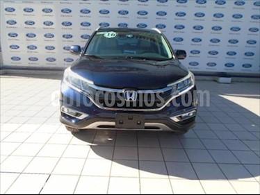 Honda CR-V EXL NAVI usado (2016) color Azul precio $310,000