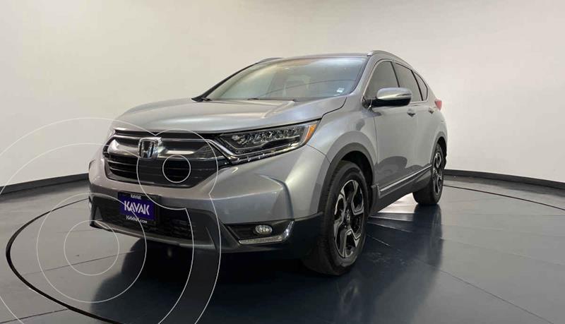 Honda CR-V Touring usado (2018) color Plata precio $427,999
