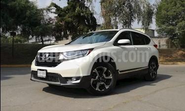 Honda CR-V Touring usado (2017) color Blanco precio $399,000