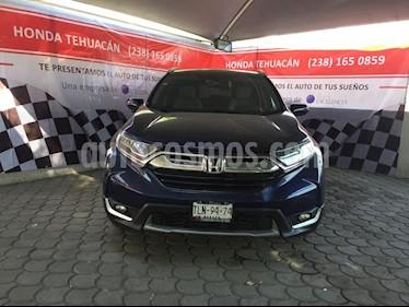 Foto venta Auto usado Honda CR-V Touring (2017) color Azul precio $420,000