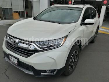 Foto venta Auto usado Honda CR-V Touring (2017) color Blanco Marfil precio $425,000