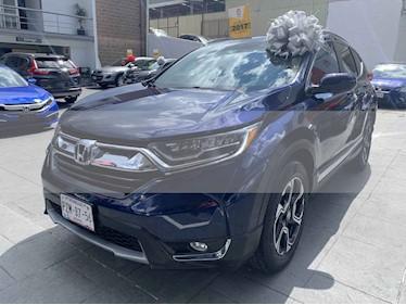 Foto venta Auto usado Honda CR-V Touring (2017) color Azul precio $419,000