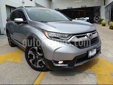 Foto venta Auto usado Honda CR-V Touring (2017) color Plata precio $387,000