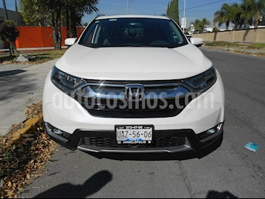 Foto Honda CR-V Touring usado (2017) color Blanco precio $440,000