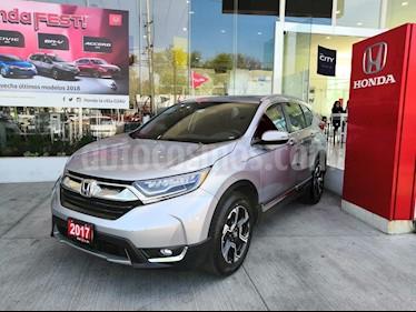Foto venta Auto usado Honda CR-V Touring (2017) color Plata Diamante precio $449,900
