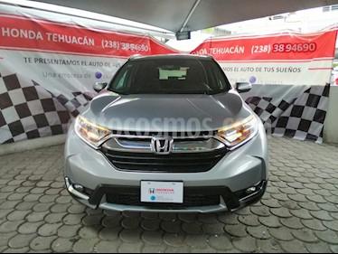 Foto venta Auto usado Honda CR-V Touring (2017) color Plata precio $410,000