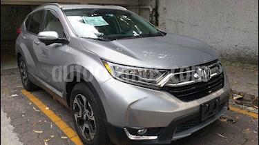 Foto venta Auto usado Honda CR-V Touring (2018) color Plata precio $526,000