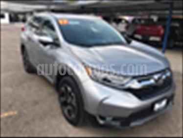 Honda CR-V Touring usado (2017) color Gris precio $395,000