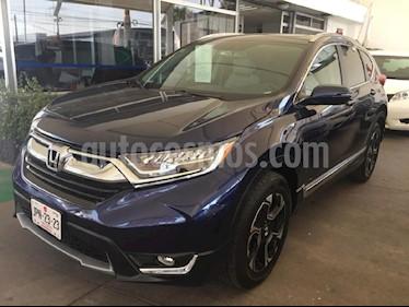 Foto venta Auto Seminuevo Honda CR-V Touring (2018) color Azul precio $465,000