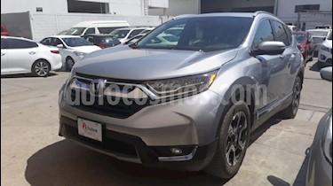 Foto venta Auto usado Honda CR-V Touring (2017) color Plata precio $419,000