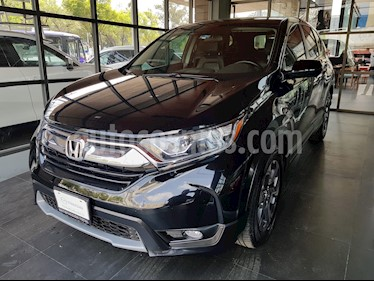 Foto venta Auto usado Honda CR-V Turbo Plus (2018) color Negro Cristal precio $406,000