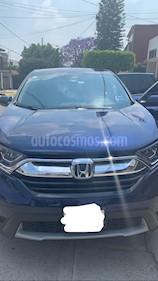 Honda CR-V Turbo Plus usado (2017) color Azul precio $400,000