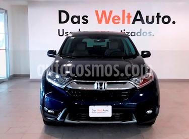 Foto venta Auto usado Honda CR-V Turbo Plus (2017) color Azul Opalo precio $400,000