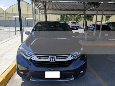 Foto venta Auto usado Honda CR-V Turbo Plus (2017) color Gris precio $374,500