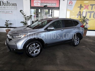 Foto venta Auto usado Honda CR-V Turbo Plus (2018) color Plata precio $435,000