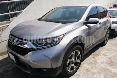 Foto venta Auto usado Honda CR-V Turbo Plus (2017) color Plata Diamante precio $405,000