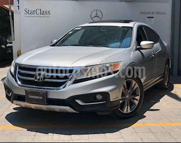 Honda Crosstour 4p EXL V6 Q/C piel usado (2013) color Plata precio $225,000