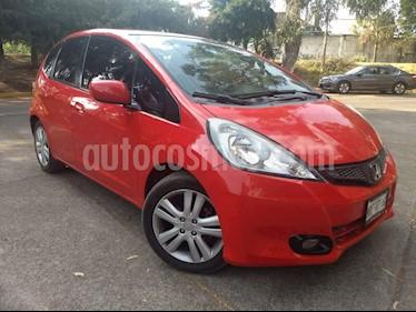 Foto venta Auto usado Honda Fit 5p EX L4/1.5 Aut (2014) color Rojo precio $157,500