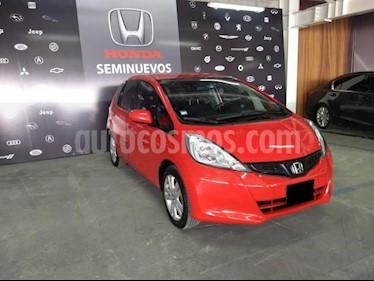 foto Honda Fit 5p EX L4/1.5 Aut usado (2014) color Rojo precio $169,000
