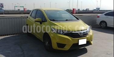 Foto venta Auto usado Honda Fit 5p Fun L4/1.5 Aut (2016) color Amarillo precio $208,000