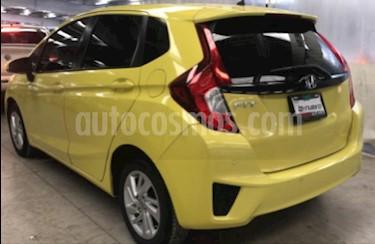 Honda Fit 5p Fun L4/1.5 Aut usado (2015) color Amarillo precio $165,000