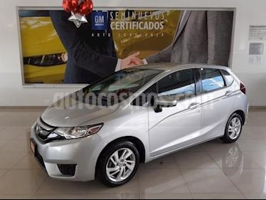 Foto Honda Fit 5P HB FUN TM6 RA-15 usado (2015) color Plata precio $163,900