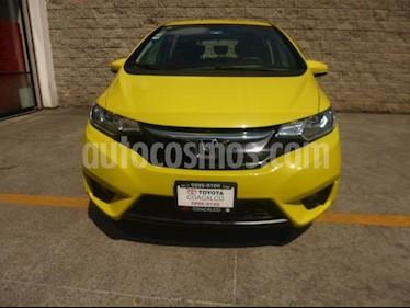 Foto venta Auto usado Honda Fit 5p Hit L4/1.5 Aut (2015) color Amarillo precio $175,000