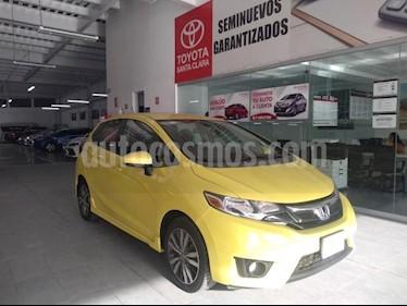 Foto Honda Fit 5p Hit L4/1.5 Aut usado (2015) color Amarillo precio $175,000