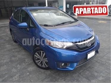 Foto venta Auto usado Honda Fit 5p Hit L4/1.5 Aut (2015) color Azul precio $193,000