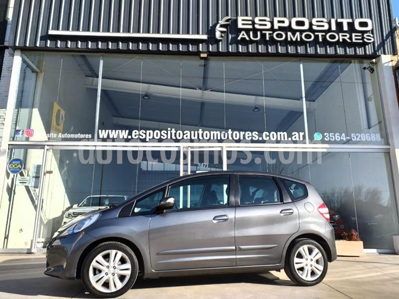 Honda Fit EX  usado (2013) color Gris Oscuro precio $850.000