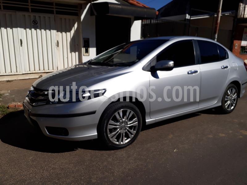 Honda Fit EXL usado (2013) color Plata Metalizado precio $870.000