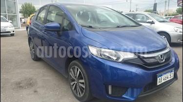 Honda Fit EXL Aut usado (2017) color Azul precio $1.050.000