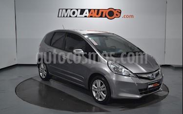 Honda Fit EXL usado (2013) color Gris Magnesio precio $595.000