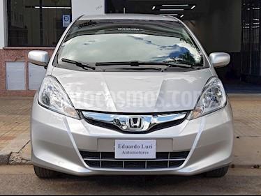Honda Fit EX usado (2013) color Plata Alabastro precio $549.000