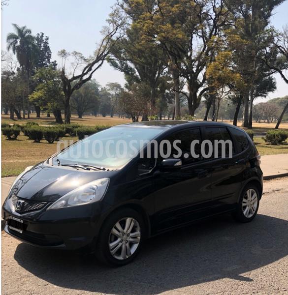 Honda Fit EX  usado (2011) color Negro precio $600.000