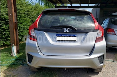 Honda Fit EXL Aut usado (2017) color Plata precio $1.290.000