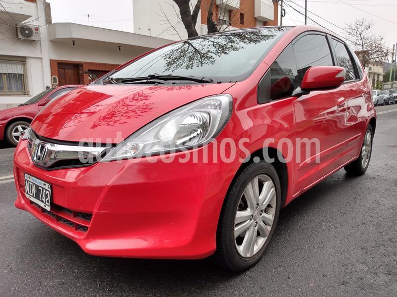 Honda Fit EXL Aut usado (2013) color Rojo Rally precio $765.000
